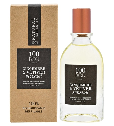 Gingembre & Vetiver Sensuel Unisex fragrance by 100BON