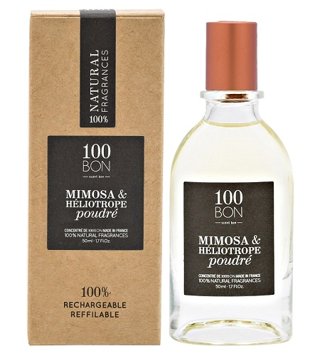 Mimosa & Heliotrope Poudre Unisex fragrance by 100BON