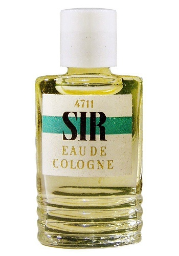 Sir cologne for Men by 4711