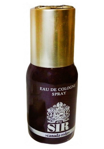 Sir Canada Ceder cologne for Men by 4711