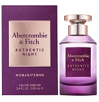 Authentic Night  perfume for Women by Abercrombie & Fitch 2020