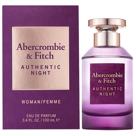 Authentic Night perfume for Women by Abercrombie & Fitch