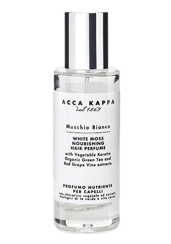 White Moss Nourishing Hair Perfume Unisex fragrance by Acca Kappa