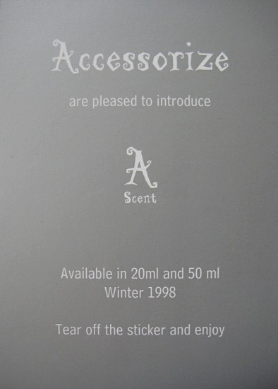 A Scent Unisex fragrance by Accessorize