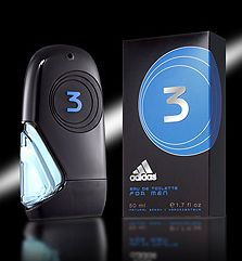 3 cologne for Men by Adidas