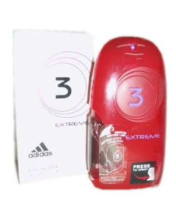 3 Extreme perfume for Women by Adidas