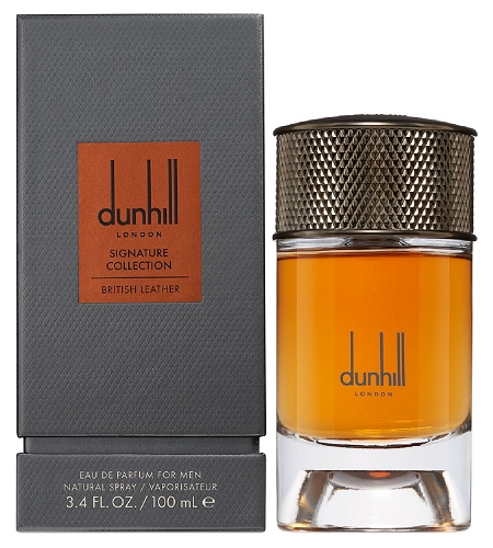 Signature Collection British Leather cologne for Men by Alfred Dunhill