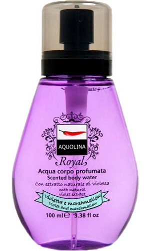 Royal Scented Body Water - Violet Marshmallow perfume for Women by Aquolina