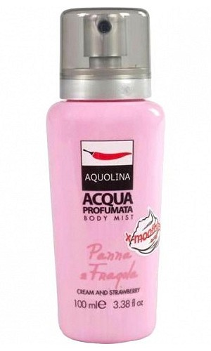 X-Moothies Body Mist Cream Strawberry perfume for Women by Aquolina