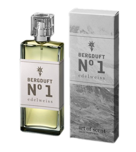 Bergduft No 1 Edelweiss perfume for Women by Art of Scent Swiss Perfumes