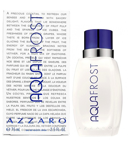 Aqua Frost cologne for Men by Azzaro