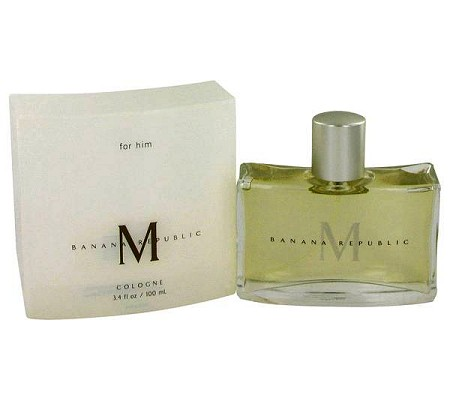 M cologne for Men by Banana Republic
