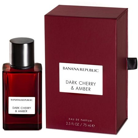 Icon Collection Dark Cherry & Amber Unisex fragrance by Banana Republic