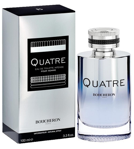 Quatre Intense cologne for Men by Boucheron