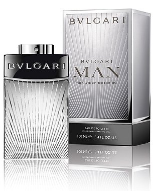 Man The Silver Limited Edition cologne for Men by Bvlgari