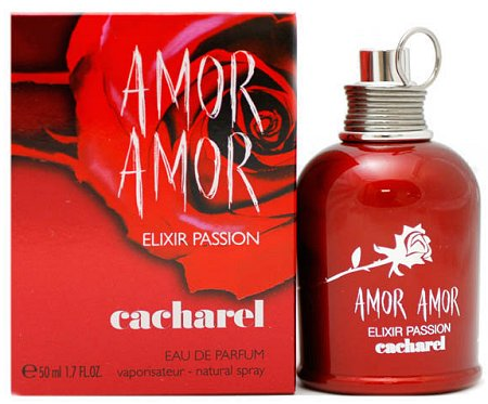 Amor Amor Elixir Passion perfume for Women by Cacharel