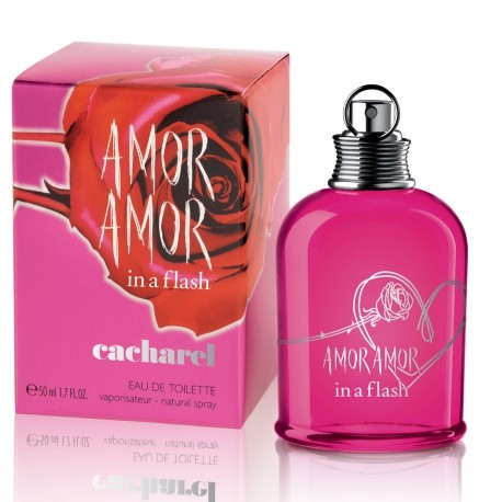 Amor Amor In A Flash perfume for Women by Cacharel