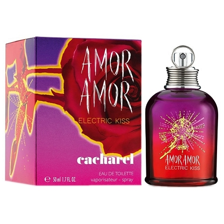 Amor Amor Electric Kiss perfume for Women by Cacharel
