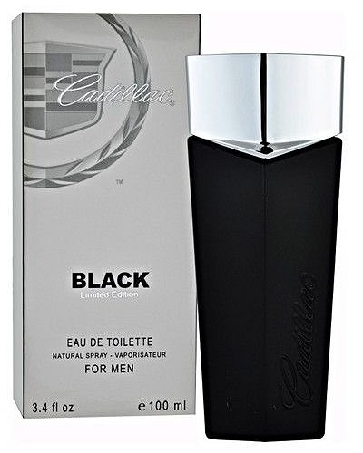 Black cologne for Men by Cadillac
