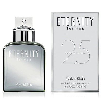 Eternity 25th Anniversary Edition cologne for Men by Calvin Klein