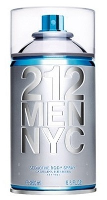 212 Men NYC Seductive Body Spray cologne for Men by Carolina Herrera