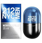212 NYC Men New York Pills  cologne for Men by Carolina Herrera 2016