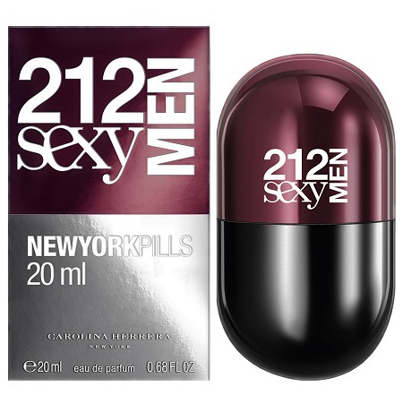 212 Sexy Men New York Pills cologne for Men by Carolina Herrera