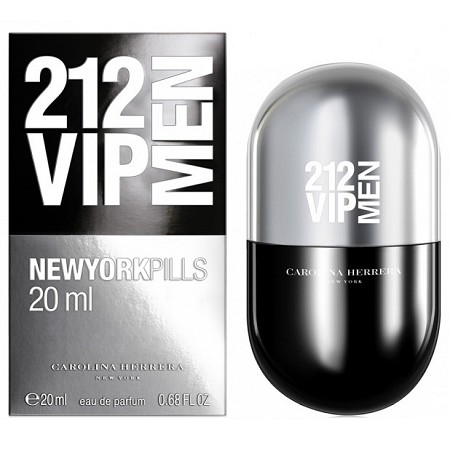 212 VIP Men New York Pills cologne for Men by Carolina Herrera