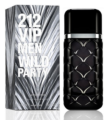 212 VIP Men Wild Party cologne for Men by Carolina Herrera