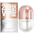 212 VIP Rose New York Pills  perfume for Women by Carolina Herrera 2016