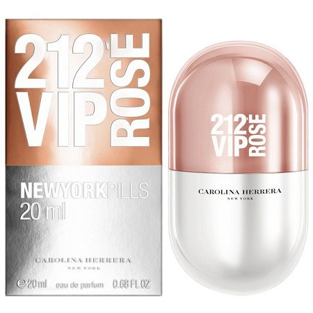 212 VIP Rose New York Pills perfume for Women by Carolina Herrera
