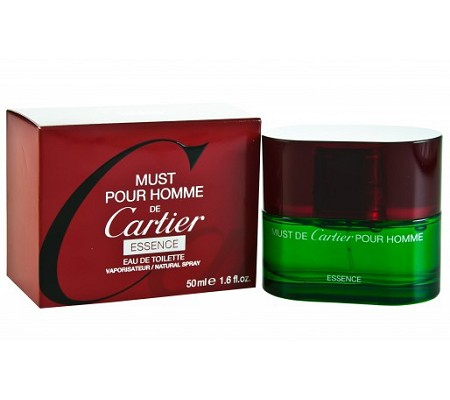 Must De Cartier Essence cologne for Men by Cartier