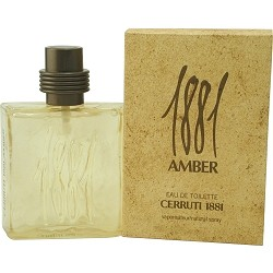 1881 Amber cologne for Men by Cerruti