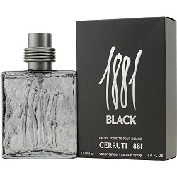 1881 Black cologne for Men by Cerruti