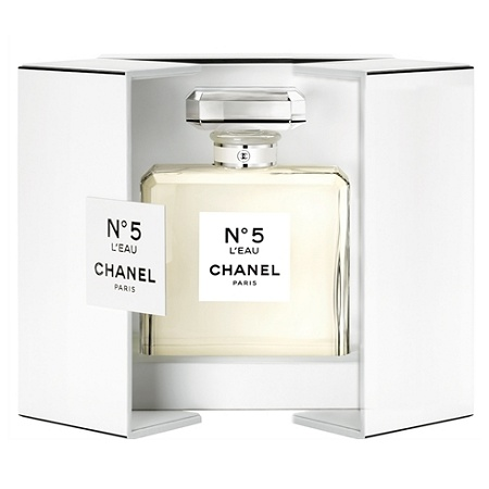 Chanel No 5 L'Eau Grand Flacon Crystal perfume for Women by Chanel