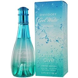 Cool Water Summer Dive perfume for Women by Davidoff