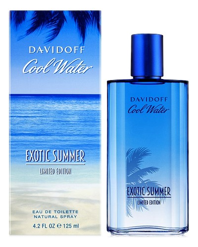 Cool Water Exotic Summer cologne for Men by Davidoff
