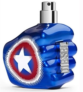 Only The Brave Captain America cologne for Men by Diesel
