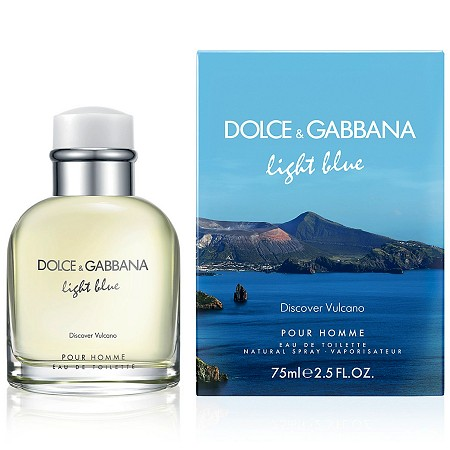 Light Blue Discover Vulcano cologne for Men by Dolce & Gabbana