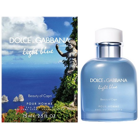 Light Blue Beauty Of Capri cologne for Men by Dolce & Gabbana