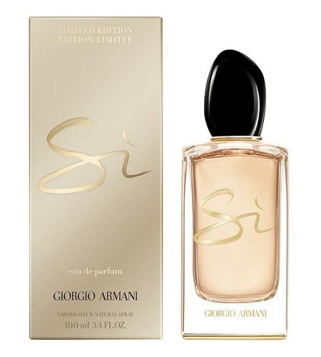 Si Limited Women For Edition Armani By 2016 Perfume Giorgio mNn08w