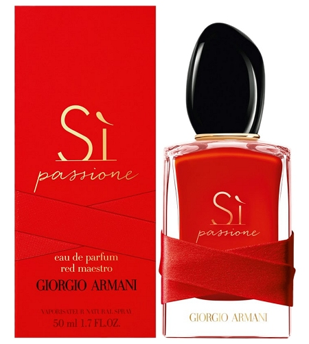 Si Passione Red Maestro perfume for Women by Giorgio Armani