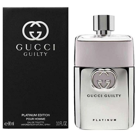 Gucci Guilty Platinum Edition cologne for Men by Gucci