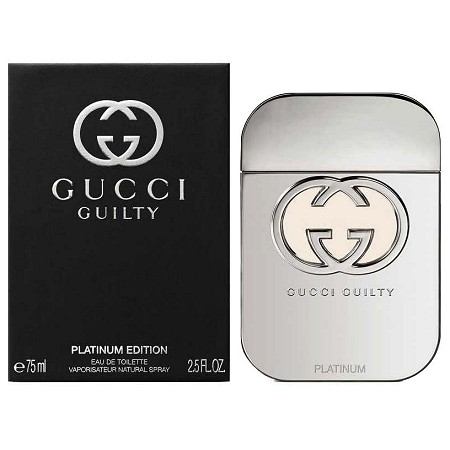 47c9f89f4a Gucci Guilty Platinum Edition Perfume for Women by Gucci 2016 ...