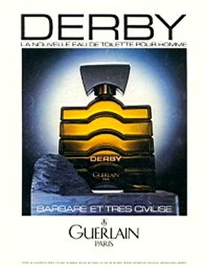 Derby cologne for Men by Guerlain