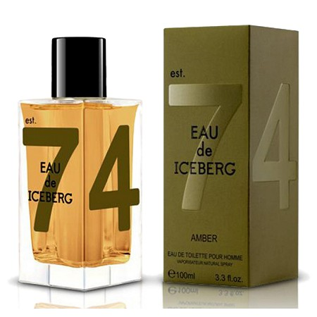 Eau de Iceberg Amber cologne for Men by Iceberg