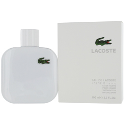 L.12.12 White cologne for Men by Lacoste