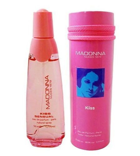 Kiss Sensual perfume for Women by Madonna Nudes 1979