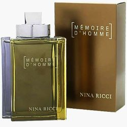Memoire D'Homme cologne for Men by Nina Ricci