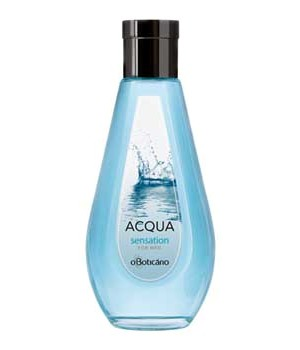 Acqua Sensation cologne for Men by O Boticario